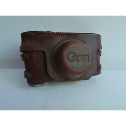 Kyпить Rare camera case for Canon IIc Rangefinder camera, approx 1953. на еВаy.соm