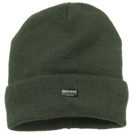 img-Winter Hat Fleece Hiking Camping Army Military Watch Cap Work Beanie Olive Green