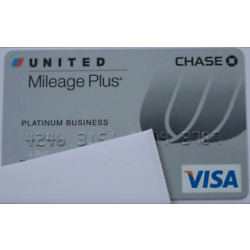 Kyпить Expired Chase Bank Platinum Business United Airlines Visa Credit Card на еВаy.соm