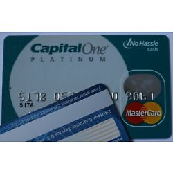 Kyпить Expired in 2009 Capital One Platinum Bank Master Card Credit Card на еВаy.соm