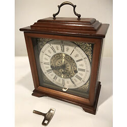 Kyпить Linden Westminster Chime Mantle Clock  (341-020) Pendulum W/Key Non Running на еВаy.соm