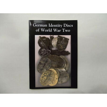 img-WW2 GERMAN IDENTITY DISCS/ DOG TAGS RESEARCH SMALL BOOK/ PAMPHLET