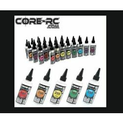 Core RC 100% Pure Silicone Oil For Diff/shocks 100CST to 300,000CST