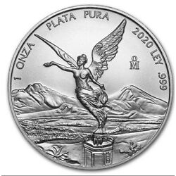 Kyпить LIBERTAD – MEXICO – 2020 1 OZ BRILLIANT UNCIRCULATED SILVER COIN- Ready To Ship на еВаy.соm