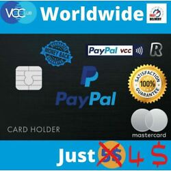 Kyпить VCC For Paypal Verification Fast Delivery на еВаy.соm