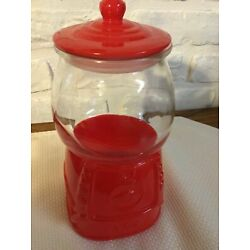 Kyпить Gumball Machine Red Valentines Day Candy Canister. NEW. Target Bullseye на еВаy.соm