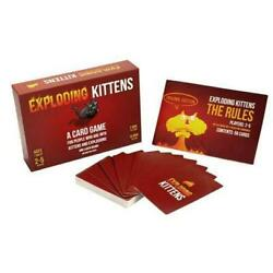 Kyпить Free shipping Exploding Kittens Card Game Kitten Original Nsfw Cats Family Party на еВаy.соm