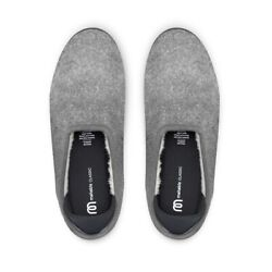 Kyпить $110 NEW MAHABIS Classic Wool Lined Slippers ONLY LARVIK LIGHT GREY 10 WOMENS/40 на еВаy.соm