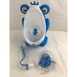 Kyпить Frog Potty Training Urinal for Boys Toilet with Funny Aiming Target - Blue на еВаy.соm