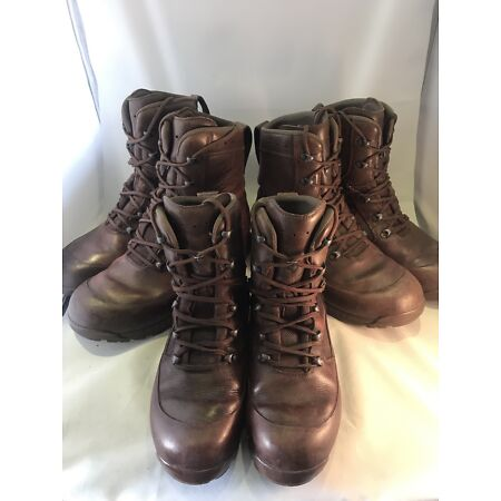 img-HAIX Combat High Liability Grade 2 British Army Boots Brown Male Female Cadet