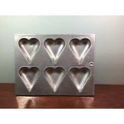 Kyпить Pewtarex Metalware Chocolate Hearts Mold Old Country Reproductions York, PA  на еВаy.соm