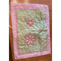 Kyпить POTTERY BARN KIDS TWIN PINK QUILT GREEN FLOWERS BIRDS SHAMS BIRDY SHEET SET на еВаy.соm