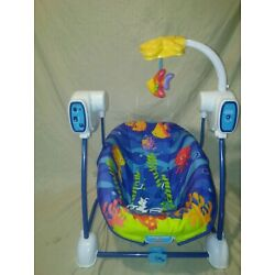 Kyпить Fisher Price Ocean Wonders Travel Swing Take Along Swing Fish Mobile  на еВаy.соm