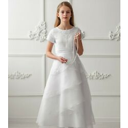 Kyпить NEU Kommunionkleid  Bolero Kommunionskleid communion Dress Lina 128 134 146 152 на еВаy.соm