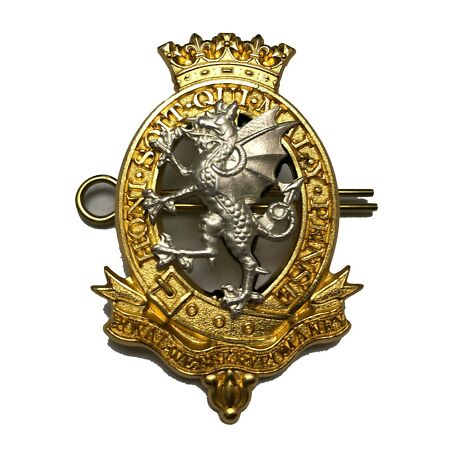 img-New Official Issue Royal Wessex Yeomanry OFFICERS Cap Badge / Beret Badge