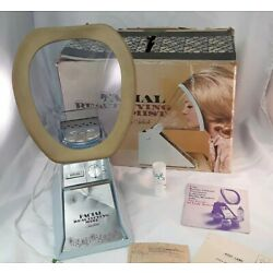 1960's Facial Beautifying Mist by Lady Schick Face Sauna Steamer Papers Box Vtg