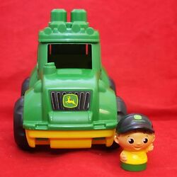 Kyпить Mega Bloks John Deere Flip Top Tractor and Farmer на еВаy.соm
