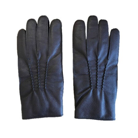 img-Large Parade Gloves - Brown Leather