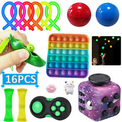 Kyпить 16PCS Sensory Fidget Toys Set Anxiety Stress Relief Anti-Anxiety Toy ADHD Autism на еВаy.соm