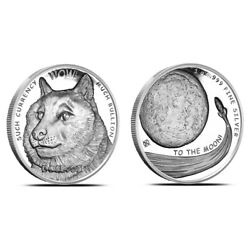 Kyпить Physical Dogecoin OPM NTR Metals Fine .999 Silver Round Coin 1 oz Doge The Moon на еВаy.соm