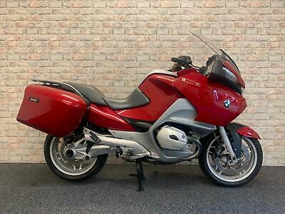 2005 05 BMW R 1200 RT in red fantastic example full bmw service and sat nav