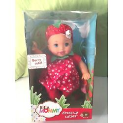 FISHER PRICE LITTLE MOMMY DRESS UP CUTIES STRAWBERRY