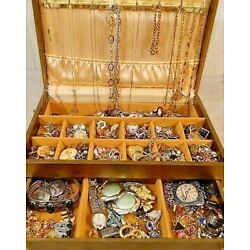 Kyпить Nice Jewelry Lot ALL GOOD Wear Resell Vintage Now 5 Pc Custom Brooch Necklace ++ на еВаy.соm