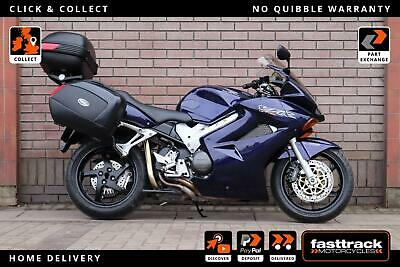 HONDA VFR 800F 2003 03 - DELKEVIC EXHAUST - FULL LUGGAGE