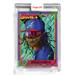 Kyпить TOPPS PROJECT 70 #34 - Ronald Acuna Jr. Alex Pardee ???? in hand! Sealed New на еВаy.соm