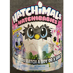 Kyпить Hatchimals HatchiBabies Unikeets Hatching Egg with Interactive Pet Baby  на еВаy.соm