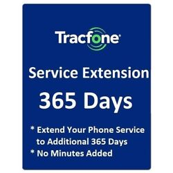 Kyпить TracFone 1 Year 365 Days Service Extension Digital Refill for BYOP на еВаy.соm