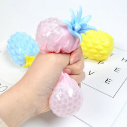 Squeeze Pineapple Anti Stress Reliever Ball ADHD Autism Mood Toy Squeeze Relief