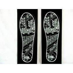 Lot of 2 - Onitsuka Tiger Sole of Shoe Stickers Decal Labels 6''L X 2''W