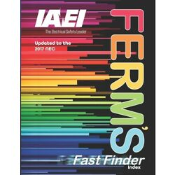 Ferm's Fast Finder Index 2017: Updated To The 2017 Nec