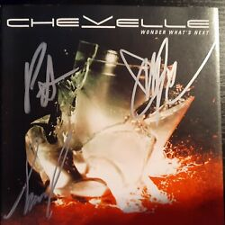 Kyпить CHEVELLE autographed cd inlay signed '02 на еВаy.соm