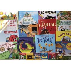 Huge Bulk Lot of 20 Children s Picture Books Instant Library Brand New All Ages