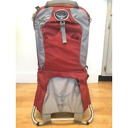 Kyпить Osprey Poco Plus Child Carrier Red And Grey Excellent Condition на еВаy.соm