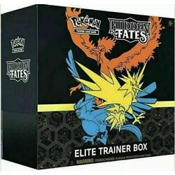 Kyпить Pokemon English Hidden Fates Elite Trainer Box In Stock Sealed на еВаy.соm