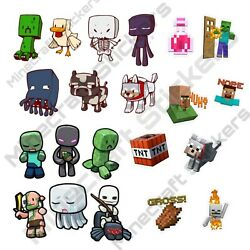 Minecraft Stickers *21 Assorted Pack