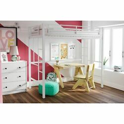 Kyпить YourZone Metal Loft Bed, Twin Size, Multiple Colors на еВаy.соm