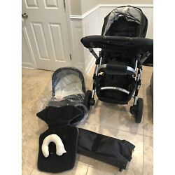 Kyпить Uppababy Vista Double Stroller Travel System Bassinet, Seat Adapters, Bag 2010 на еВаy.соm