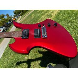 Kyпить 1980's BC Rich Neck Thru Mockingbird NJ Series Candy Apple Red - Very Clean  на еВаy.соm