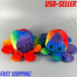 Kyпить Funny  Octopus Reversible Plush Toy Soft Baby Gift or Adult Gift :-) на еВаy.соm