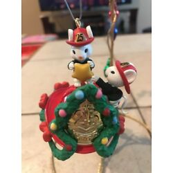 Kyпить ENESCO CHRISTMAS ORNAMENT: FIREHOUSE FRIENDS MOUSE FIREMEN New 3rd in series на еВаy.соm