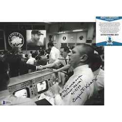 Kyпить EUGENE GENE KRANZ NASA FLIGHT DIRECTOR SPACE SIGNED 8x10 PHOTO C BECKETT BAS COA на еВаy.соm