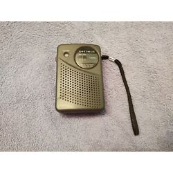 Kyпить Vtg Radio Shack Optimus AM / FM Portable Pocket Radio 12-794 Tested Works  на еВаy.соm