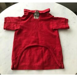 Burberry Dog Red Shirt size M