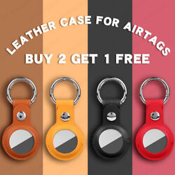 Kyпить Leather Case Cover for AirTag Pet Location Tracker Sleeve Shell Skins Keychain на еВаy.соm