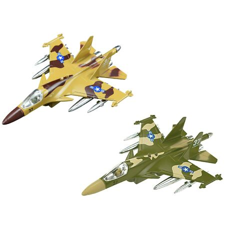 img-KIDS ARMY FIGHTER JET WITH LIGHTS AND SOUNDS MILITARY ACTION ADVENTURE TOY