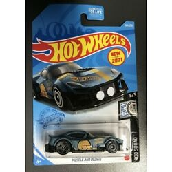 2021 HOT WHEELS 184/250 MUSCLE AND BLOW 5/5 ROD SQUAD ~ BOX SHIP FREE ~ NEW CAST